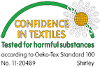 Continental confidence in textiles